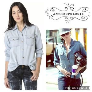 Current/Elliott Anthropologie The Perfect Shirt